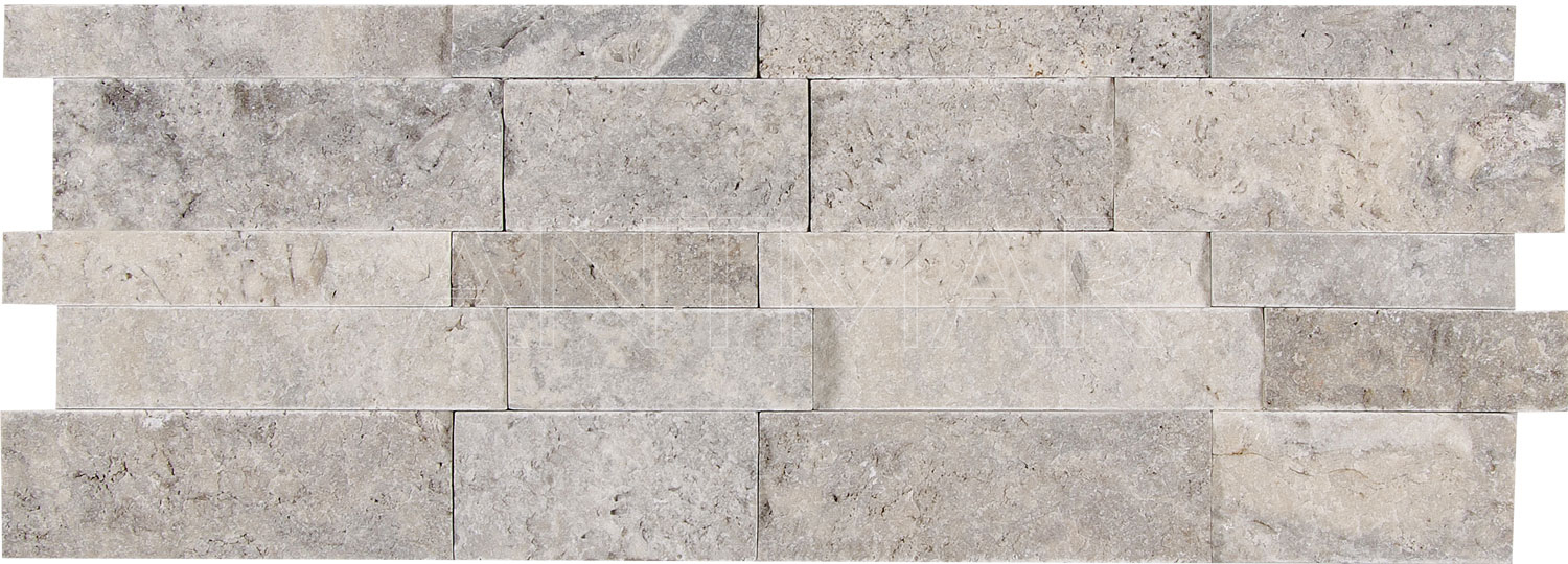 imgs for silver travertine wall